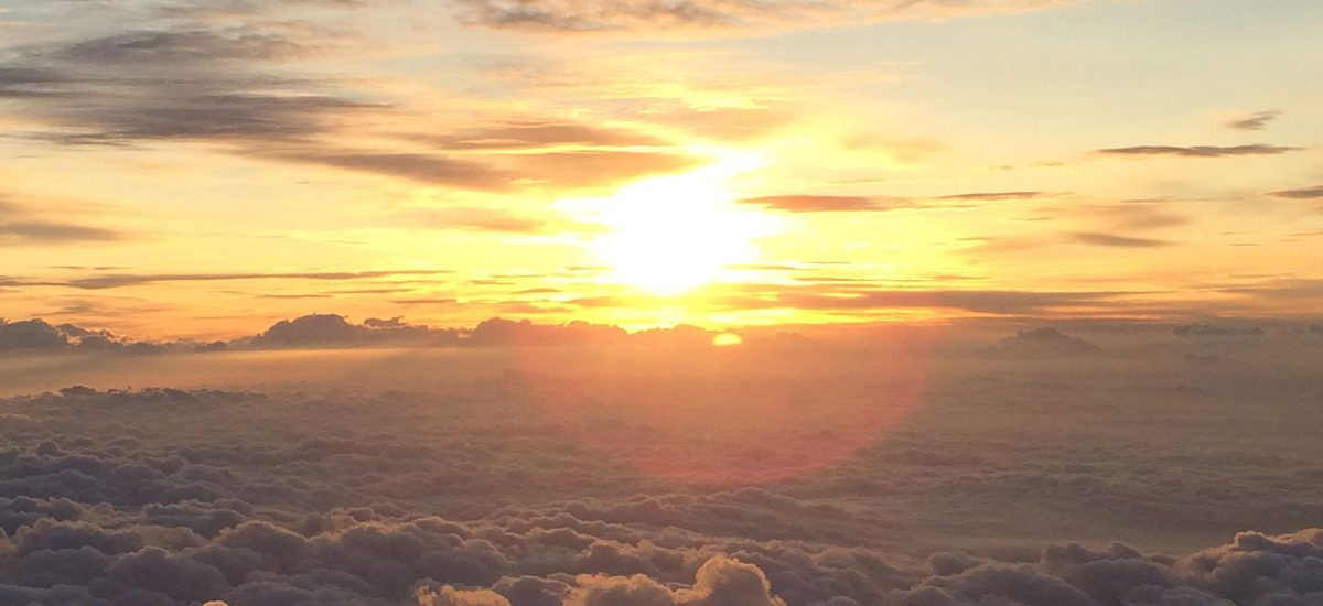富士山山頂御来光
