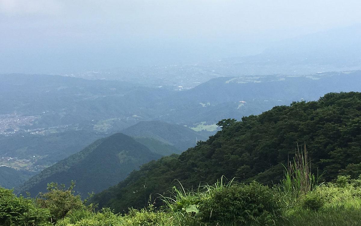 鍋割山からの景色