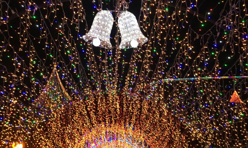 宮ケ瀬ダム 清川村クリスマスイルミネーション