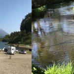 精進湖と忍野八海