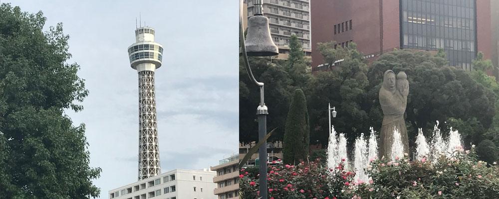 マリンタワー&水の守護神像