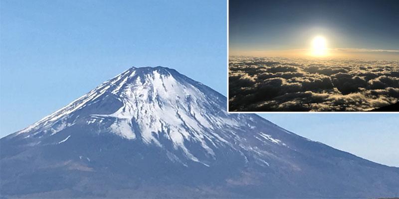 山梨県 富士山 ご来光
