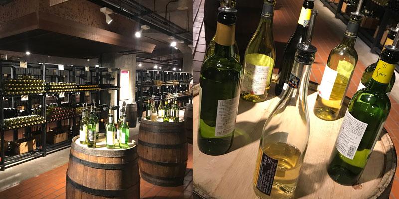 勝沼ぶどうの丘ワイン
